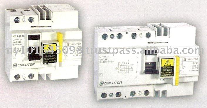 Automatic Self Reclosing Earth Leakage Circuit Breaker (ELCB)