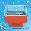 gelato ice cream showcase freezer