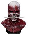 2013 Kral çılgın için parti elbise lateks korku maskesi( canavarı şeytan şeytan Zombi) iskelet maskesi