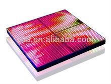 P25mm LED Video Dance Floor; 400pixels,dmx controlled (4*512channels);IP65