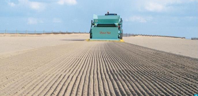 Beach Sand Cleaner Beach Sand Cleaning Machinery