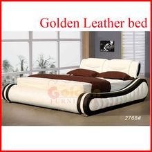 Amazing!!! faux Leather european bedroom furniture B2768#