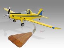 Air Tractor 502b Wood Desktop Airplane Model