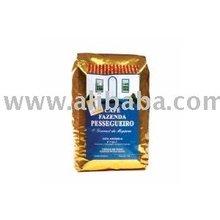 Fazenda Pessegueiro, Gourmet Coffee From Brazil Roasted Grain 1 KG Pack