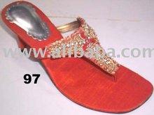 Slippers, Fancy, Heel