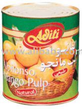 Alphonso Mango Pulp (Sweetend / Natural)
