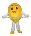 Niedlichen maskottchen kostüm zitrone/zitrone fell kostüm/zitrone partei kostüm