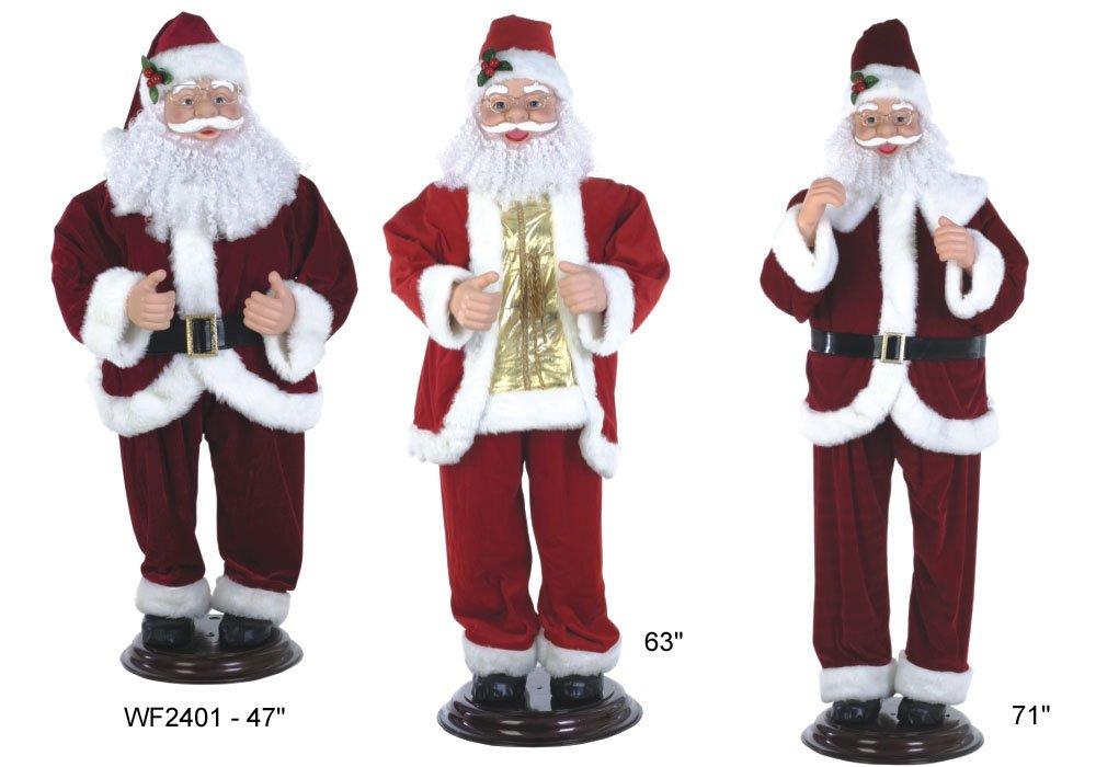 Huge Santa Robot, Santa Claus