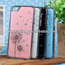 Fancy Dandelion chrome case cover for apple iphone 5