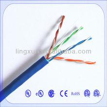 High quality bulk networking copper Cat5e PVC unshielded