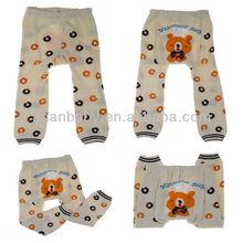 Cute Cartoon Beer Printed Baby Pants Legs 36 Designs For Chose Toddler Warmer Tights