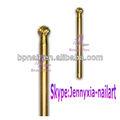 Electrónico de oro de lima de uñas taladro bits/magnética taladradoras/agujereadoras/brocas para uñas de arte