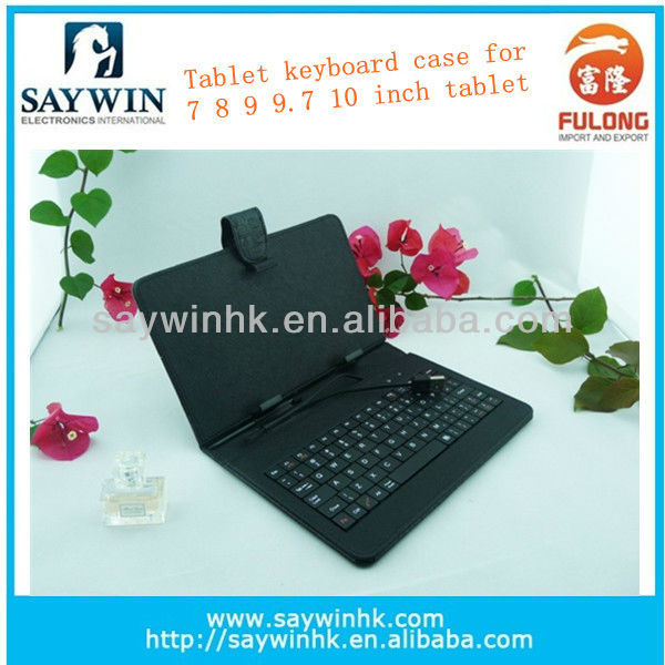 2014 hot selling universal 7 inch leather case for tablet pc