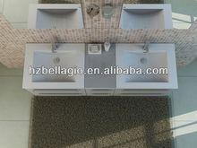 2014 New Style placage de bain meubles, Armoire de toilette pour micro-ondes four armoire