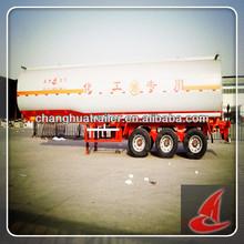 Gooseneck Aluminum alloy flammable liquid tank semi-trailer transport