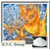 Halogen free flame retardant smoke suppression for PVC plastic rubber paint polymer