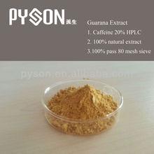 Caffeine 10% 22% HPLC Seed used Guarana Extract