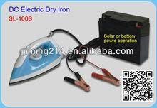 Electric DC Iron with Solar Energy 12Volt. DC Iron:SL-100S (Dry / Spray style)