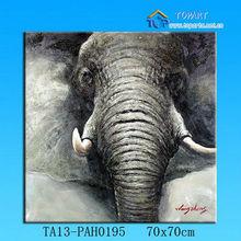 Animal canvas paintig design/ elephant canvas painting