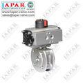 Lpa16 serie delgada de la válvula de bola neumática o eléctrico o volante o de la turbina de Mini válvula de bola