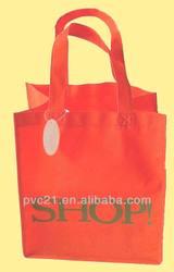 Popular plastic degradable PVC shopping bag