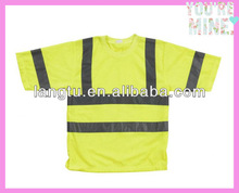 cheap safety reflective pocket t shirt