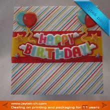 Wonderful birthday gift packing