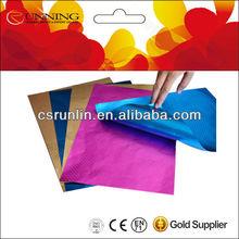 printed aluminium foil paper