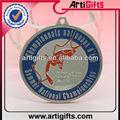 prata banhado metal medalha de honra do jogo