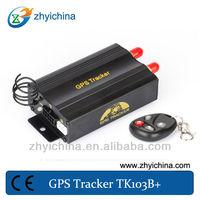 China manufacture dual sim card lock unlock tracker tk103B+ gps+tracker+para+mini+moto
