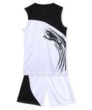 Wholesale blank basketball clothing