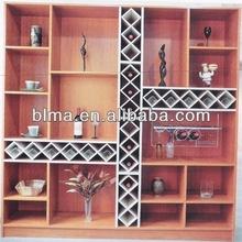 2013 popular design wood bookcase with melamine veneer lower price /wooden furniture