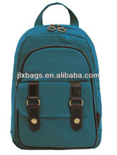 2013 cotton canvas leisure school backpack bag