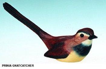 Hand Painted Ceramic Birds