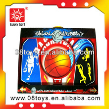 Baby wood play toys basketball board and hoop