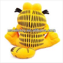 cartoon image plush toy yellow cat popular in USA