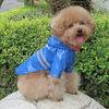 Beautiful PU Raincoat for Dogs, Dog Clothing, Pet Clothing