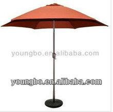 9-Feet Bronze Aluminum Market Rust Polyester Umbrella cover