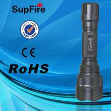 SupFire M3 echargeable lithium battery bailong led torch machine