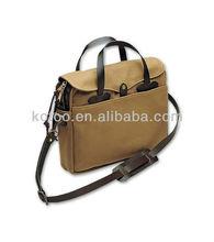 High quality genuine leather bag men design