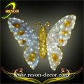 Hot vente rs-animal49 jaunes papillons artificiels(, ce rohs)