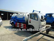 Dongfeng 3000L vácuo caminhão de sucção de esgoto