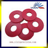 Red anodized aluminum turning components custom made universal furniture parts for furnituring
