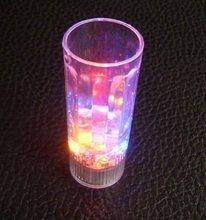 Colorful Flashlight Clear Acrylic Led Ice Cup