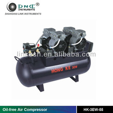 Oil-free air compressors types Oil free compressed air HK-3EW-55 (one to three)