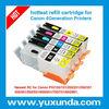 empty refill ink cartridge for Canon PGI450/CLI451 PGI550/CLI551with resettable chip