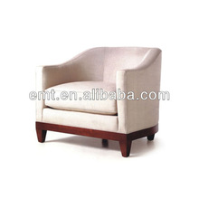 Free Hotel Furniture with Sofa Chair Design (EMT-S55)