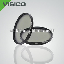 NEW VISICO Optical Glass CPL 46MM Filter