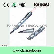 Shenzhen Usb flash drive laser pointer ball pen,laser pen usb flash memory,pen usb flash 2.0