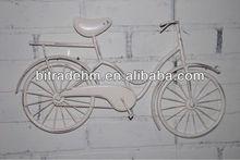 metal wall bike decor